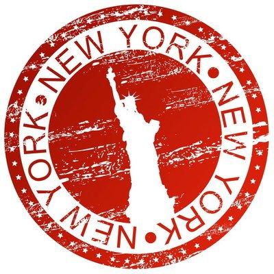 Stamp - New York, USA