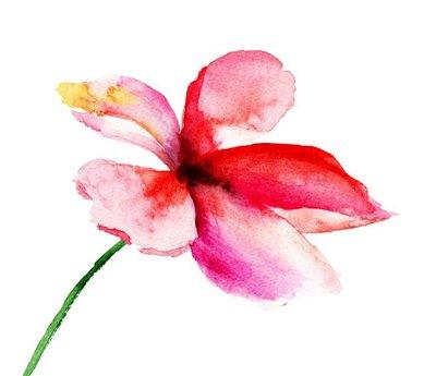 Stylized flowers,