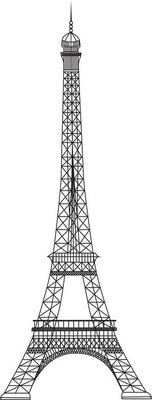 Vector Eiffel Tower (Paris)