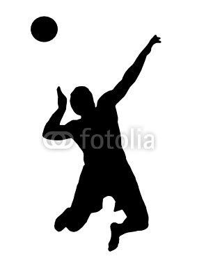 Volleyball Sprungaufgabe