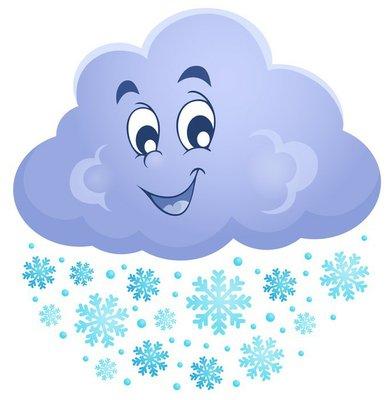 Winter cloud theme image 1
