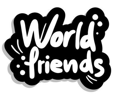World friends graffiti
