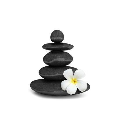 Zen stones balance concept