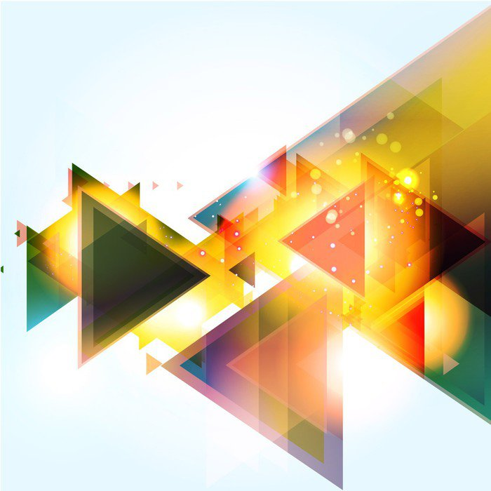 Wall Mural - Vinyl Abstract Background Vector - Themes