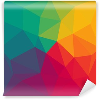 Wall Mural - Vinyl Abstract colorful background