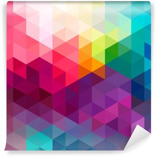 Wall Mural - Vinyl Abstract colorful seamless pattern background