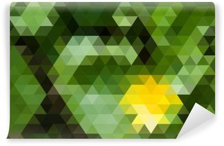 Wall Mural - Vinyl Abstract geometric background