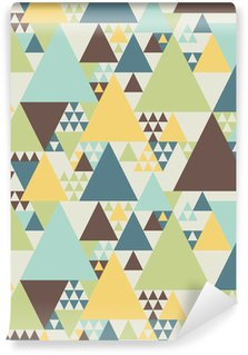 Abstract geometric pattern #2 Vinyl Wall Mural