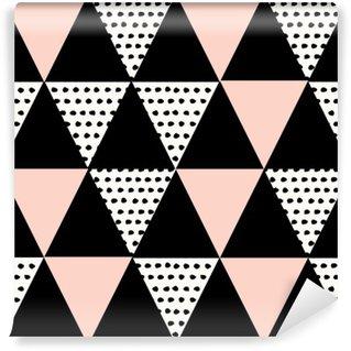 Abstract Geometric Pattern Wall Mural - Vinyl