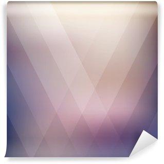 Abstract geometric purple polygonal background. Vector illustration Wall Mural - Vinyl