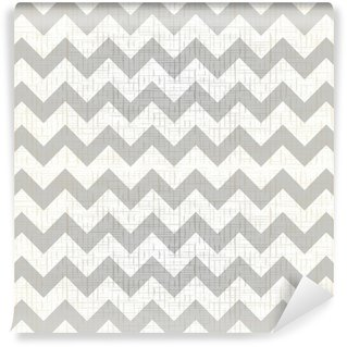 Wall Mural - Vinyl Abstract geometric zigzag seamless pattern. vector