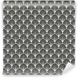 Wall Mural - Vinyl Abstract Seamless Art Deco Vector Pattern Texture