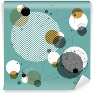 Wall Mural - Vinyl Abstract Technology Background. Good for financial annual cover