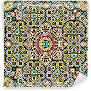Akram Morocco Pattern Three Wall Mural - Vinyl