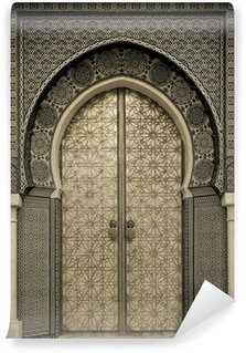 Ancient doors, Morocco Wall Mural - Vinyl