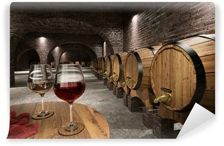 Wall Mural - Vinyl Ancient wine cellar