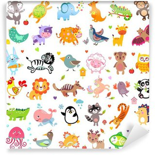 Animals Wall Mural - Vinyl