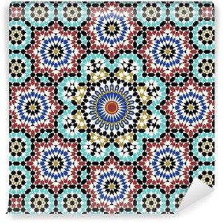 Anvar Moorish Pattern Wall Mural - Vinyl
