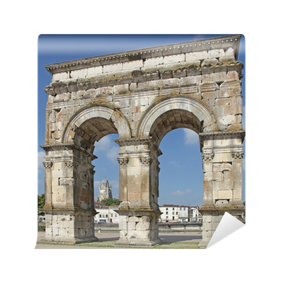 Arc de triomphe saintes wall mural pixers we live for Arc de triomphe wall mural