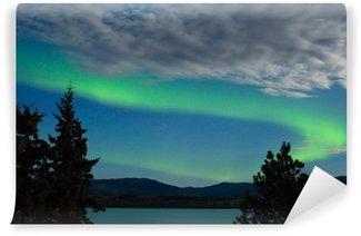 Wall Mural - Vinyl Aurora borealis (Northern lights) display