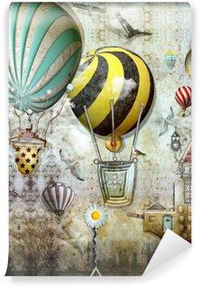 Wall Mural - Vinyl Balloon race