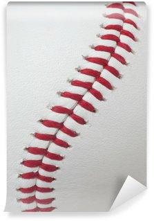 Baseball Wall Mural baseball laces or softball laces vector image wall mural - vinyl