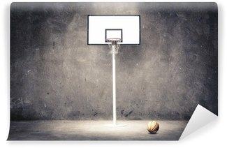 Wall Mural - Vinyl basketball hoop