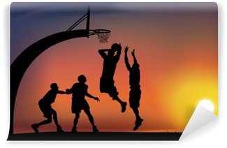 Wall Mural - Vinyl basketball