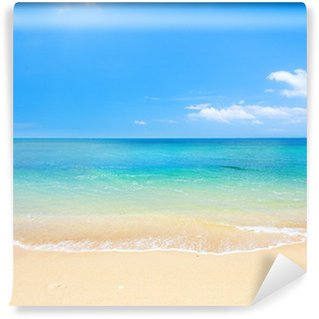 Wall Mural - Vinyl beach and tropical sea