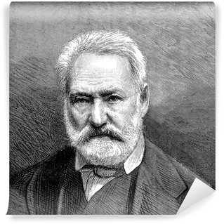 Wall Mural - Vinyl Bearded Man - 19th century - Victor Hugo