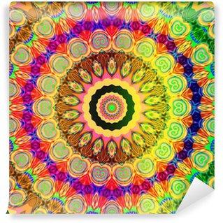 beautiful colored mandala Wall Mural - Vinyl