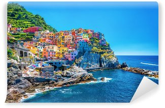 Vinyl Wall Mural Beautiful colorful cityscape