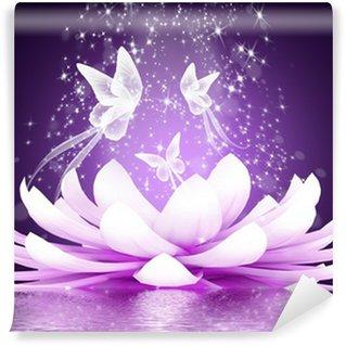 Beautiful lotus flower Wall Mural - Vinyl