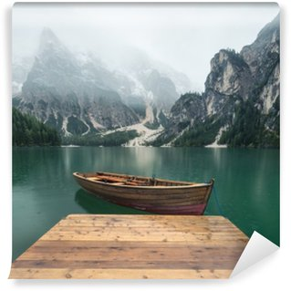 Beautiful natural landscape in the Italian mountains Vinyl Wall Mural