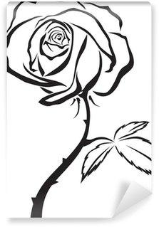 Beautiful rose Wall Mural - Vinyl