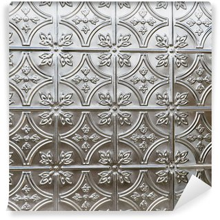 Wall Mural - Vinyl beautiful tin ceiling or wall tile