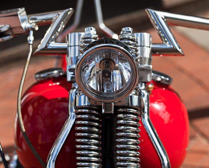 Wall Mural   Vinyl Beleuchtung Alte Harley Davidson   Themes Part 61