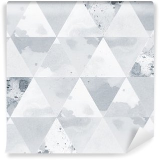 Black and white pattern Wall Mural - Vinyl