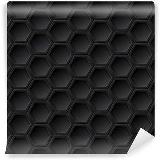 Black grid seamless pattern