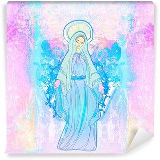 Blessed Virgin Mary Wall Mural - Vinyl