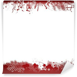 Blood splatter wallpaper vinyl wall murals pixers for Blood in blood out mural