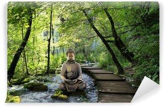 Bouddha et Serenite Wall Mural - Vinyl
