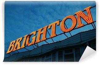 Vinyl Wall Mural Brighton Pier Lights