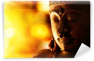 bronze buddha statue Wall Mural - Vinyl