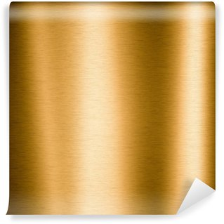 Brushed gold metallic plate useful for backgrounds
