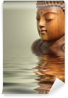 buddha wasser hintergrund Wall Mural - Vinyl