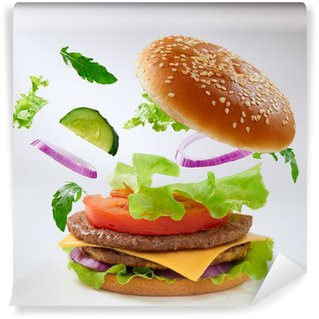 Vinyl Wall Mural burger