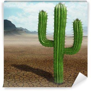 Cactus in the desert Wall Mural - Vinyl