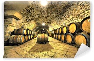 Wall Mural - Vinyl cave à vin