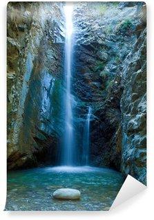 Wall Mural - Vinyl Chantara Waterfalls in Trodos mountains, Cyprus